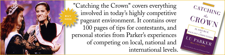 Lu Parker Catching the Crown cover