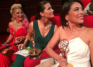 Lu Parker Emmy award