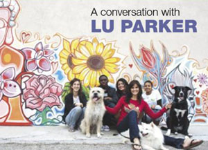 A conversation with Lu Parker cover