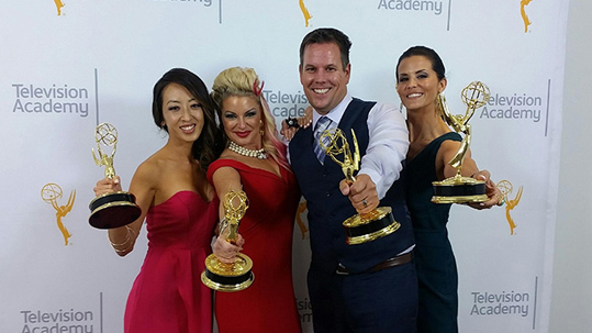 Lu Parker wins two Emmys