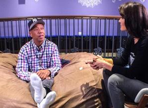 Lu Parker interviews Russell Simmons