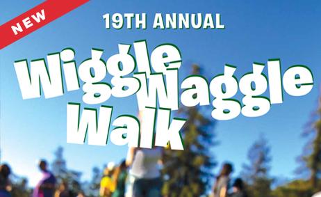 Lu Parker hosts the Wiggle Waggle walk